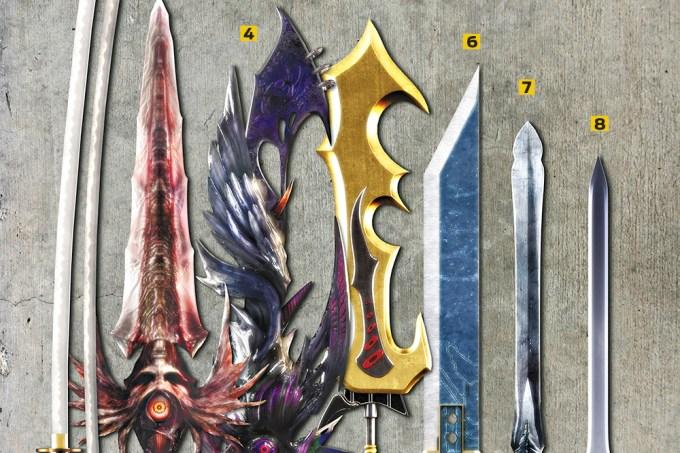 Maiores Espadas dos Videogames
