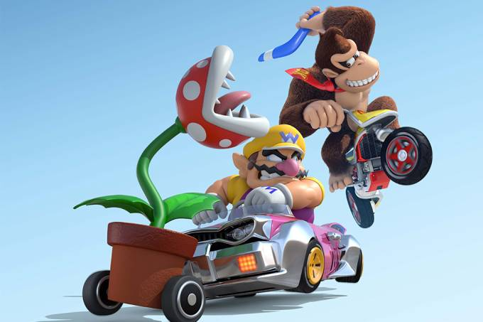 Mario Kart é a franquia de corridas mais popular dos EUA