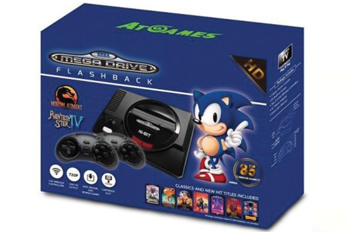 Mega Drive será lançado no mercado americano com mais jogos que no Brasil