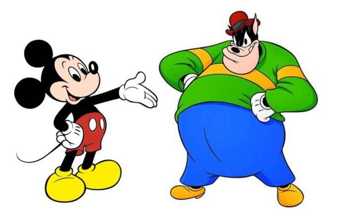 Mickey e Bafo de Onça
