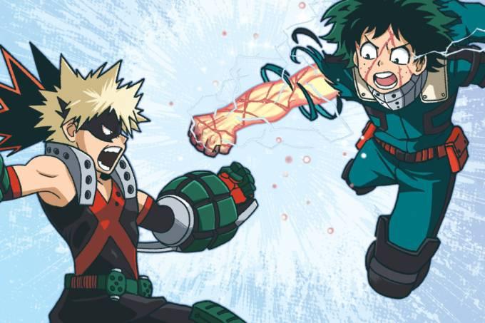 Os uniformes de anime My Hero Academia