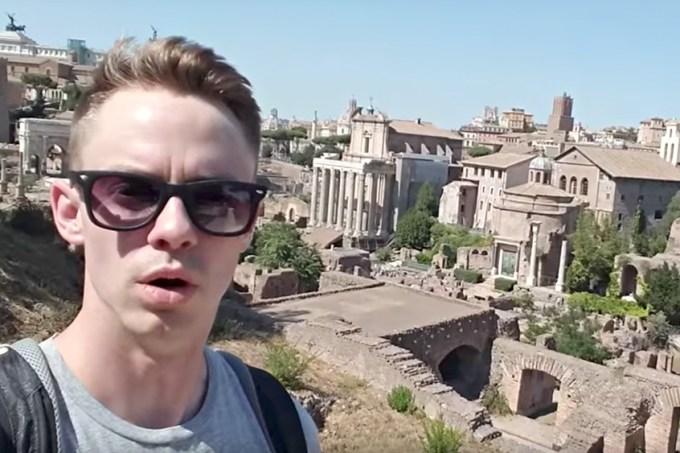 Vídeo mostra como responder quando te perguntam sobre suas viagens