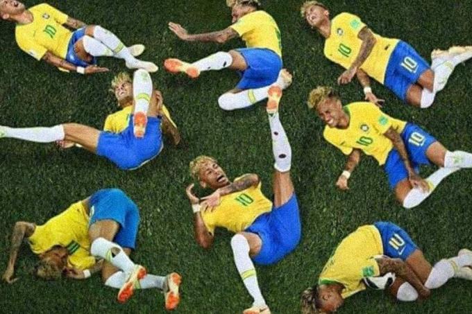 Por que jogador de futebol não tem coceira quando cai na grama?