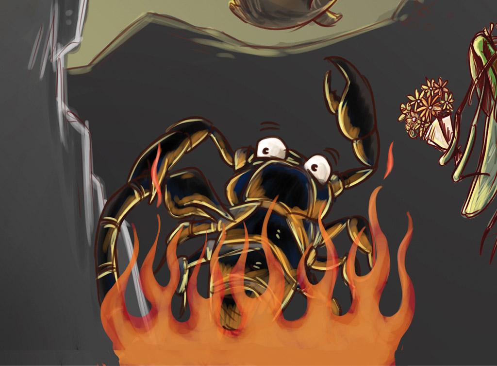 os-animais-tambem-cometem-suicidio-escorpioes