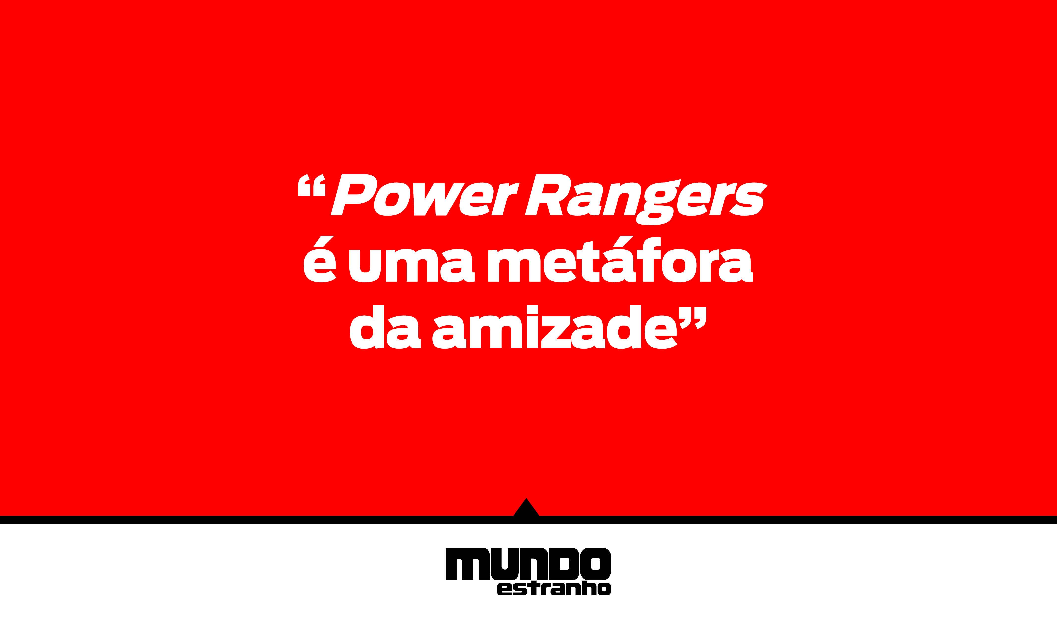 Power Rangers: Frases