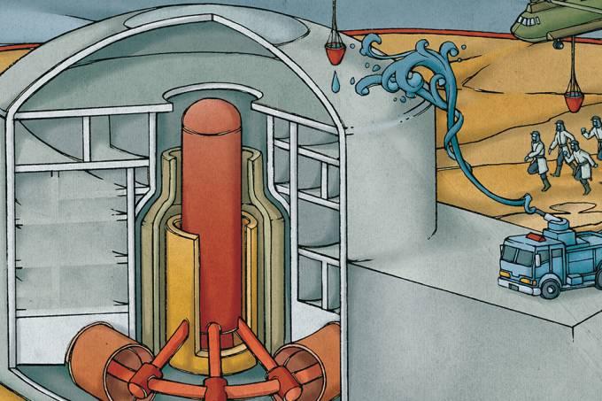 Comoé contido um vazamento nuclear? – Abre