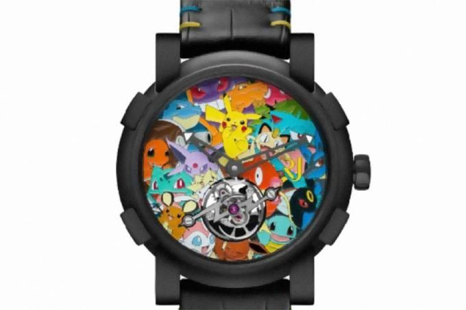 Relógio Pokémon,