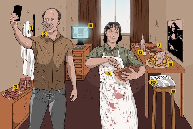 O casal canibal da Rússia