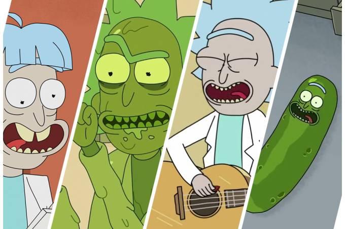 Qual Rick de Rick & Morty é você?