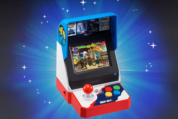 Mini fliperama Neo Geo Mini será vendido no Ocidente