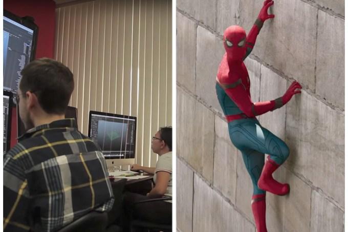 Jovens autistas trabalharam na animação dos créditos do novo Homem-Aranha