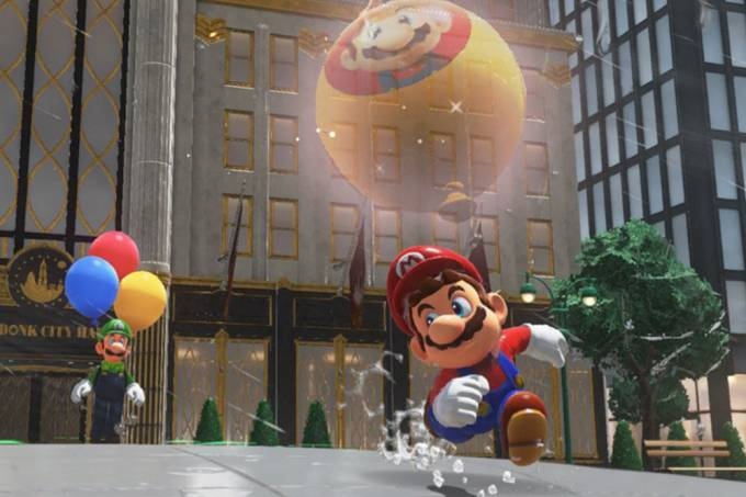"""Estão aparecendo imagens pornográficas em """"Super Mario Odyssey"""""""