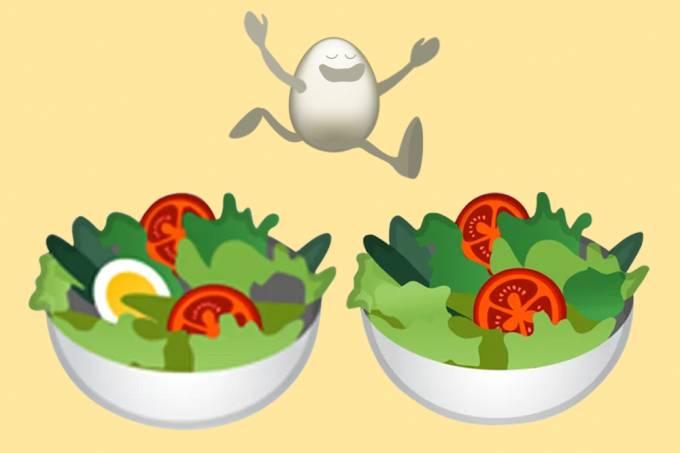 Produtores de ovo do Reino Unido ficam indignados com mudanças em emoji