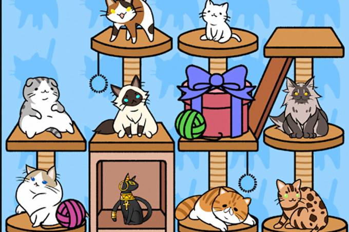 Game permite cuidar de uma casa lotada de gatos