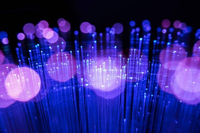 O que é fibra ótica?