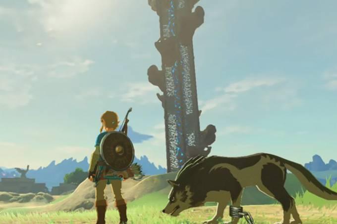 Diretor de The Legend of Zelda: Breath of the Wild explica por que não é possível fazer carinho em cachorros do jogo