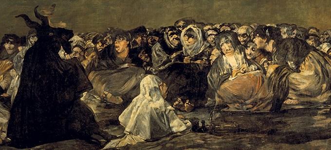 O que era o sabbath das Bruxas?