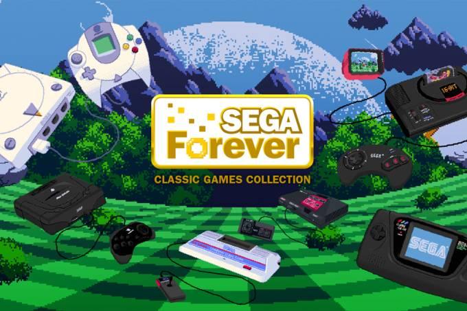 Sega lança pacote de jogos clássicos para celular