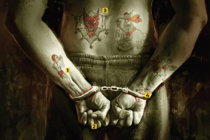 Símbolos do crime