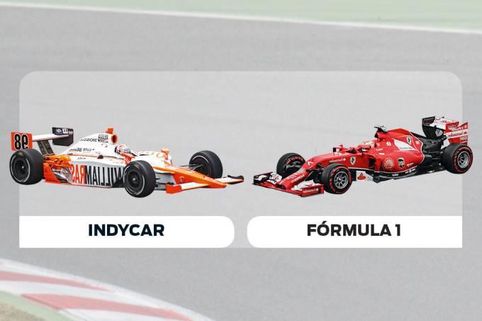 Quem ganharia numa  corrida entre um IndyCar  e um Fórmula 1?