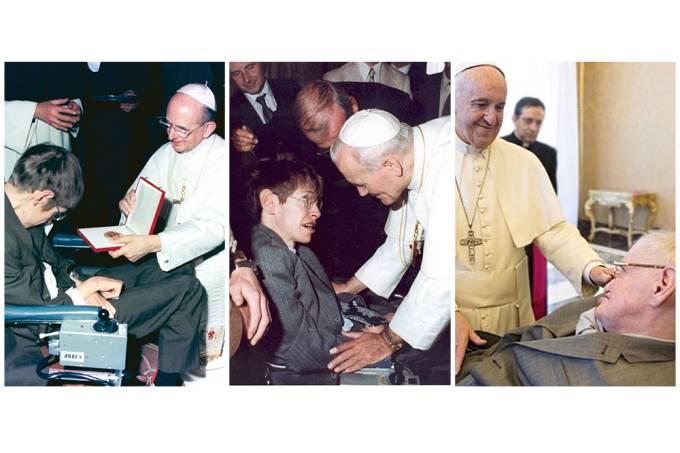 Stephen e papa