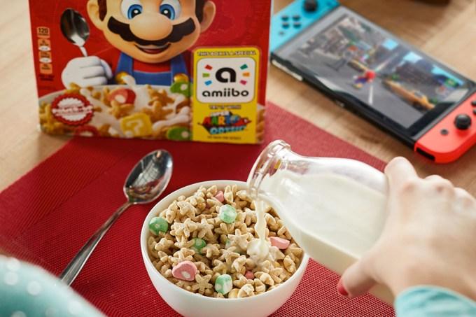 """""""Super Mario Odyssey"""" terá um cereal oficial"""