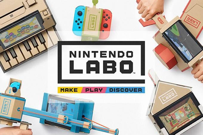 Só a Nintendo poderia criar algo como o Labo