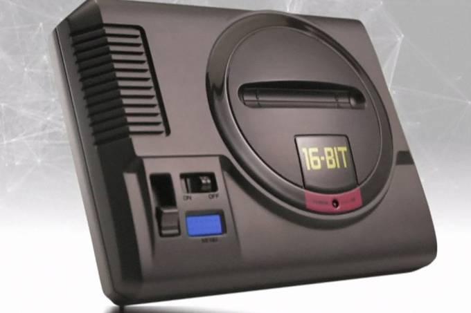 Sega anuncia versão mini do Mega Drive e jogos clássicos para o Nintendo Switch