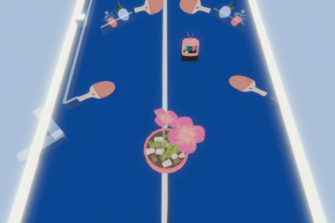 Floating muda a estética dos jogos de pinball