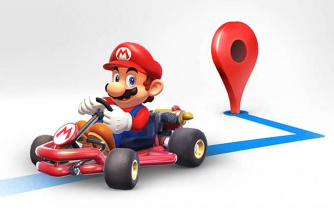 Google Maps disponibiliza Mario como ícone em aplicativo de navegação