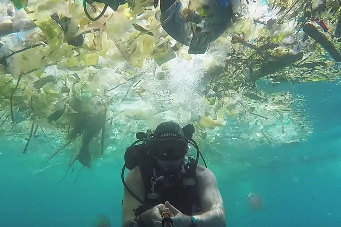 Um exemplo da sujeira que está nos nossos oceanos