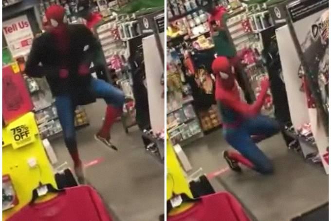 Homem-Aranha mostra movimentos jamais vistos no cinema