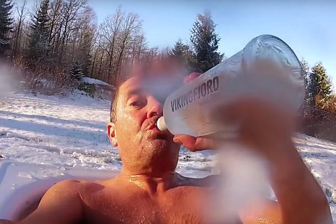Norueguês é fã incondicional de neve