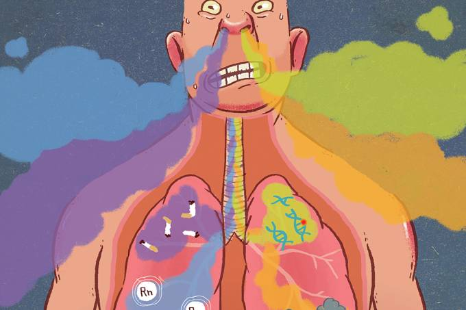 Por que não fumantes também podem ter câncer de pulmão?
