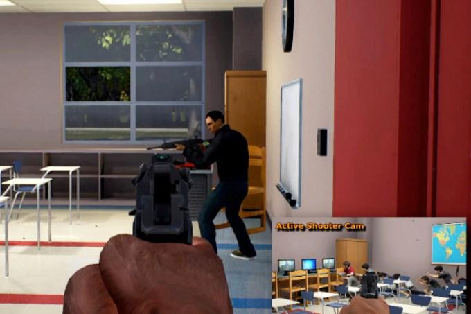 Governo americano cria jogo que simula tiroteio em escolas