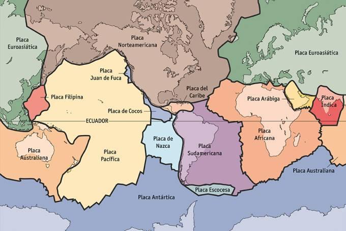 Os continentes continuam se movimentando?