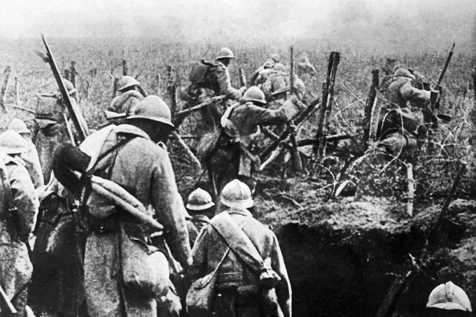 Como foi a luta de trincheiras na Primeira Guerra Mundial?