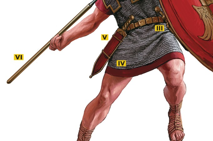 Como lutava uma legião romana?