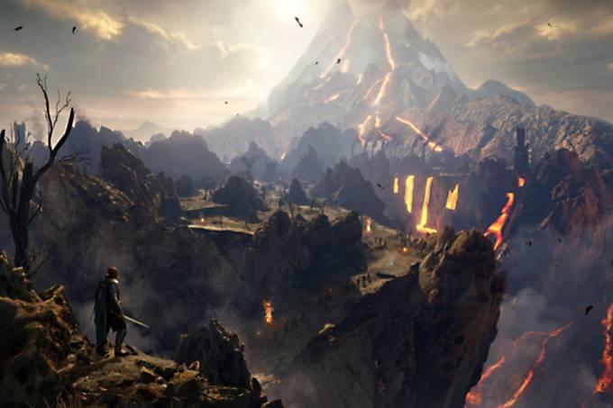 """""""Sombras da Guerra"""" revela Mordor em toda a sua grandeza"""