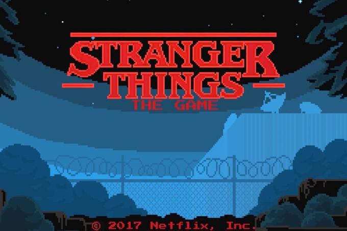 Jogo de Stranger Things foi lançado depois de testes secretos