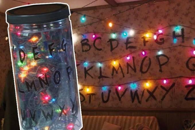 Stranger Things: como fazer uma luminária inspirada na série