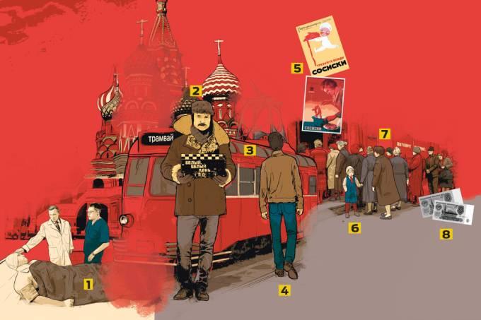 Como era a vida na União Soviética?