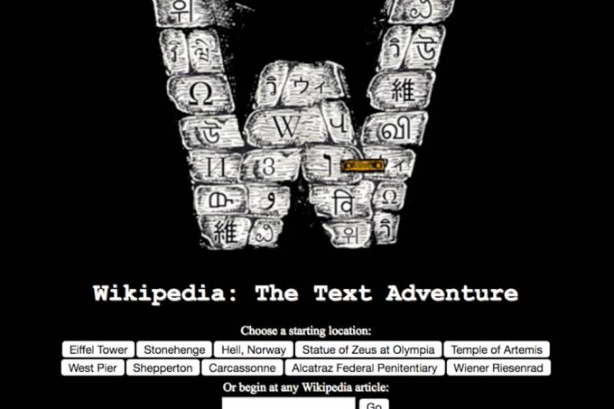 Desenvolvedor cria RPG de exploração a partir da Wikipedia