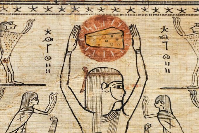 Queijo de 3,2 mil anos no Egito