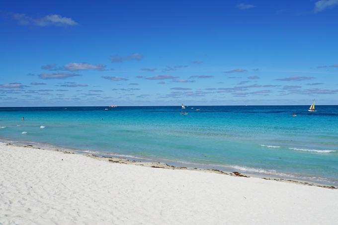 Praia de Tarara, em Cuba