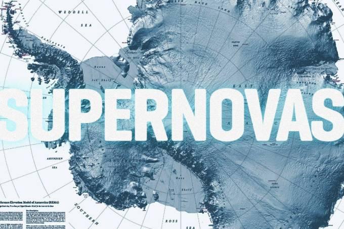 Viaje pela Antártida com o mapa mais detalhado da história