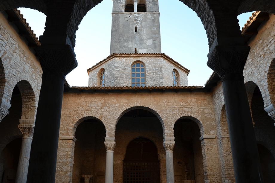 A Basílica Eufrasiana em Porec, na Croácia