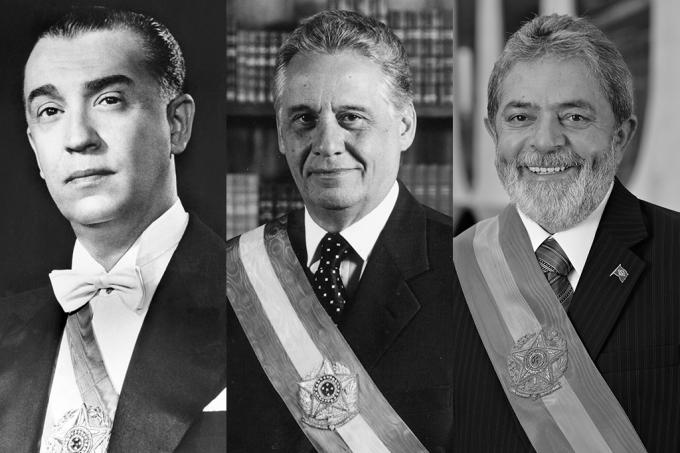 Presidentes que cumpriram o mandato