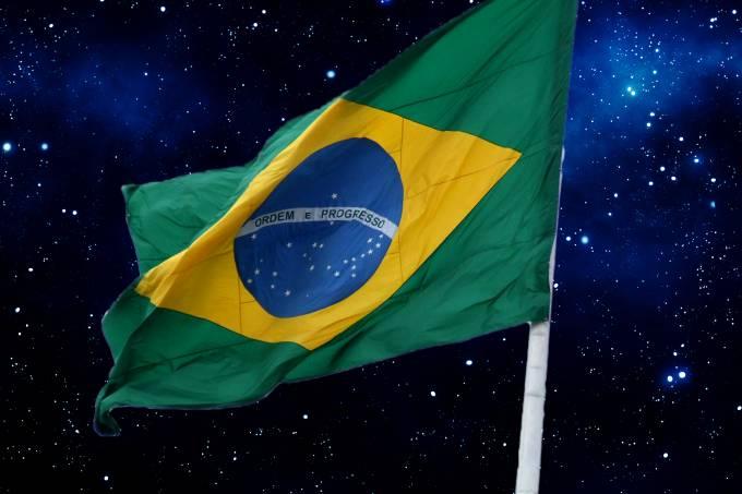 A imprecisão astronômica da bandeira do Brasil