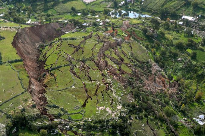 Deslizamento de terra – Destaque